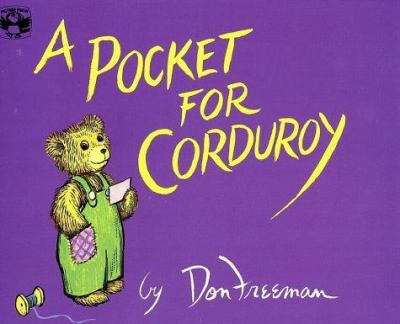 A pocket for Corduroy by Don Freeman (1908-1978)