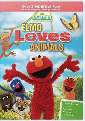 Elmo loves animals