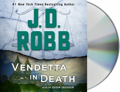 Vendetta in death by J. D. Robb, (1950-)