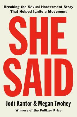 She said by Jodi Kantor, (1975-)
