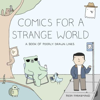 Comics for a strange world by Reza Farazmand
