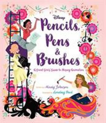 Pencils, pens & brushes by Mindy Johnson