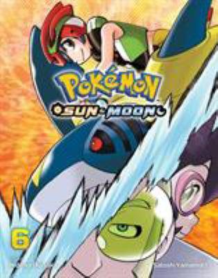 Pokémon sun & moon by Hidenori Kusaka