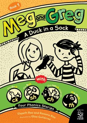 A duck in a sock by Elspeth Rae, (1973-)