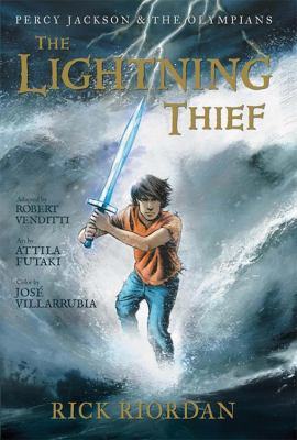 Percy Jackson and the Olympians:  The Lightning Thief: The Graphic Novel by Rick Riordan