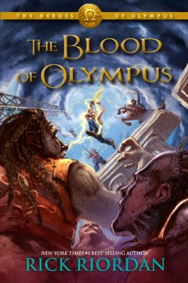The Heroes of Olympus,Book Five: The Blood of Olympus by Rick Riordan