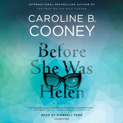 Before She Was Helen by Caroline B.. Cooney