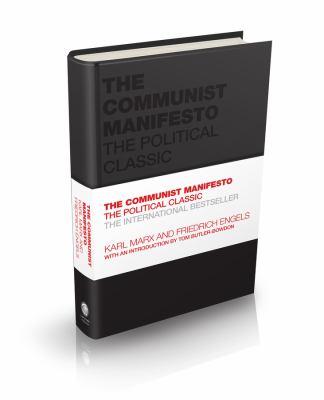 The Communist manifesto by Karl Marx, (1818-1883)