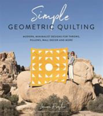 Simple geometric quilting by Laura Preston