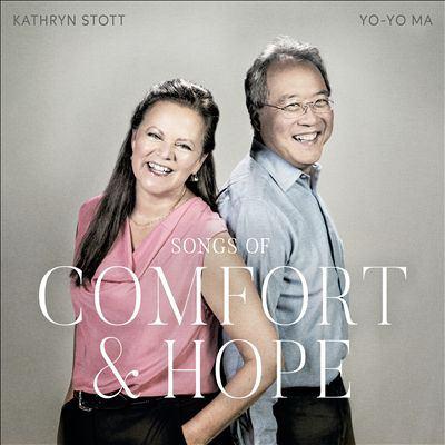 Songs of comfort & hope by Kathryn Stott