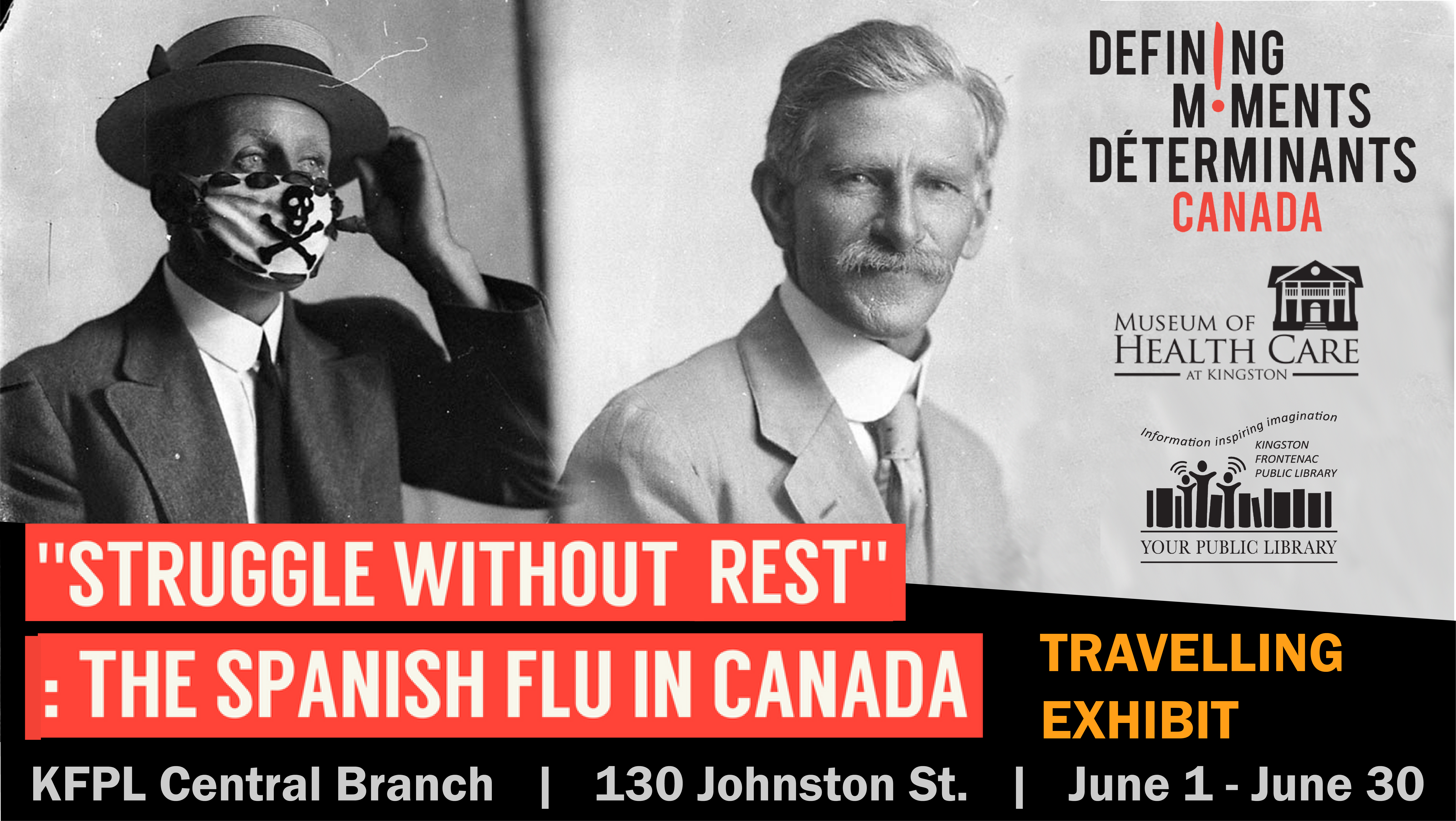 Struggle without rest: the Spanish flu in Canada