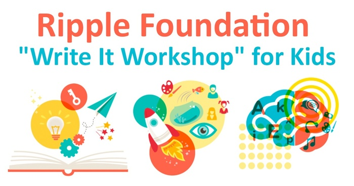 "Ripple Foundation, ""Write It Workshop"" for kids"
