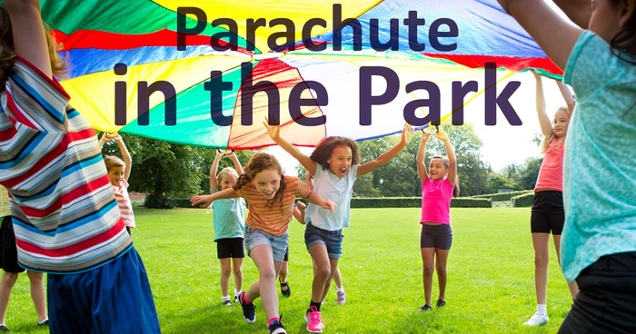 parachute in the park