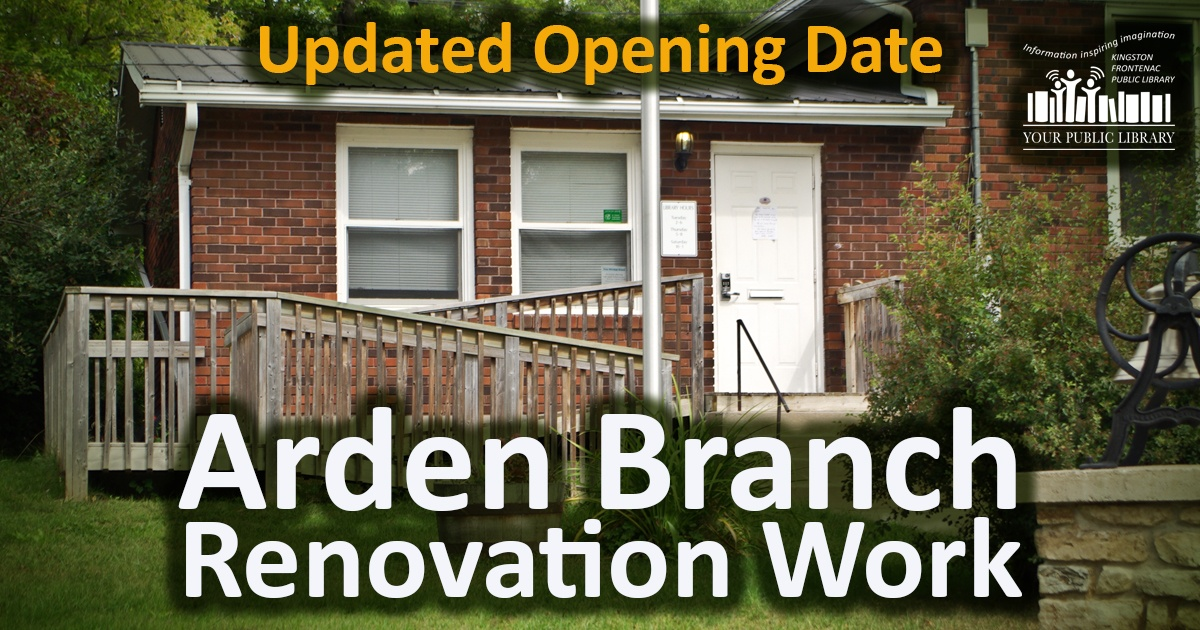 Arden Branch Renovation Work