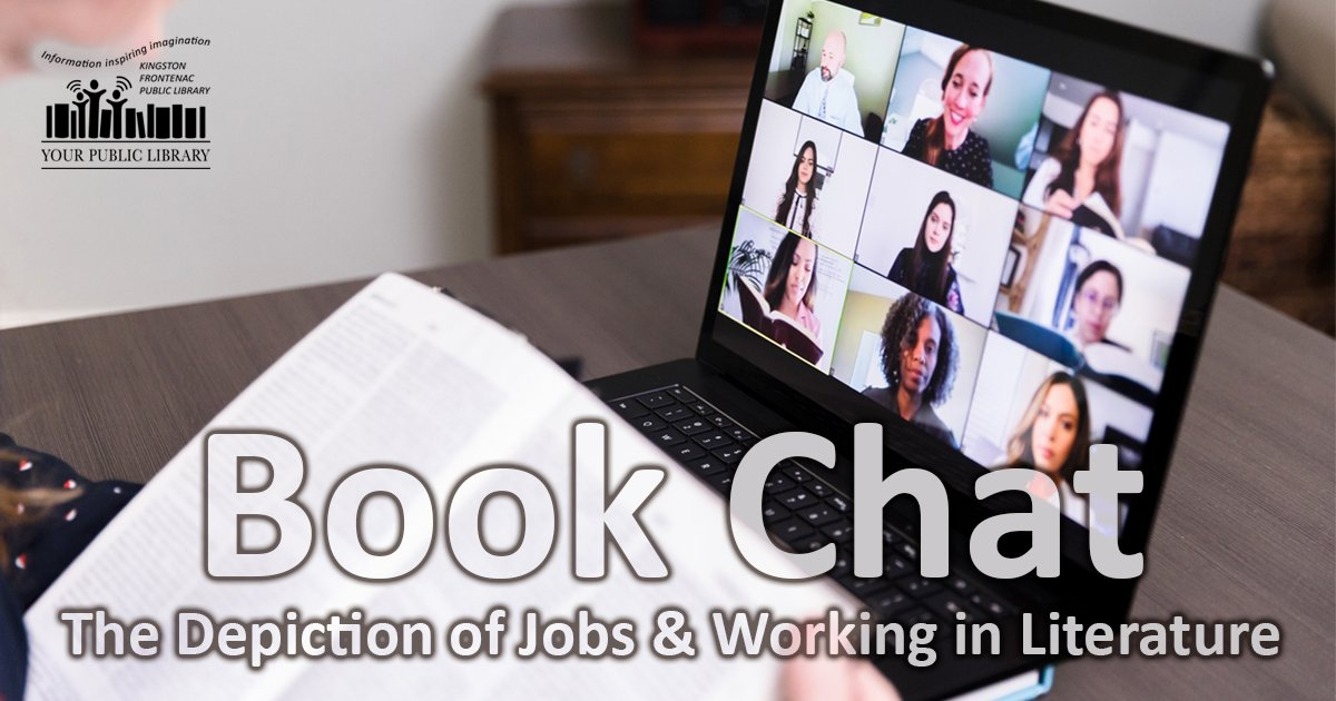 Book Chat: The Depiction of Jobs and Working in Literature