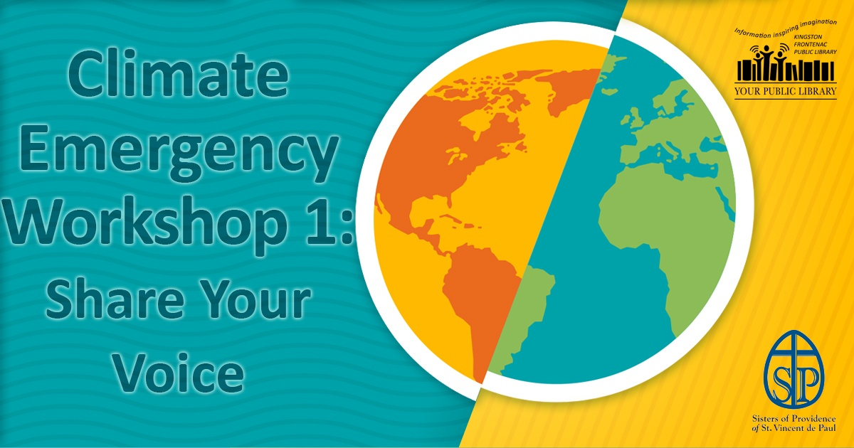 image for Climate Emergency Workshop 1: Share Your Voice