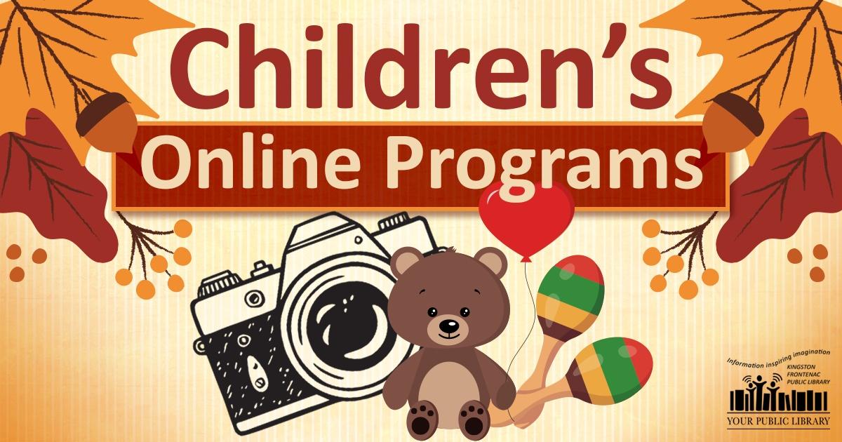 Fall online programs for children