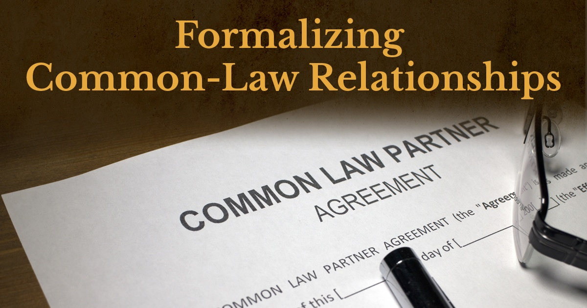 Formalizing Common-Law Relationships