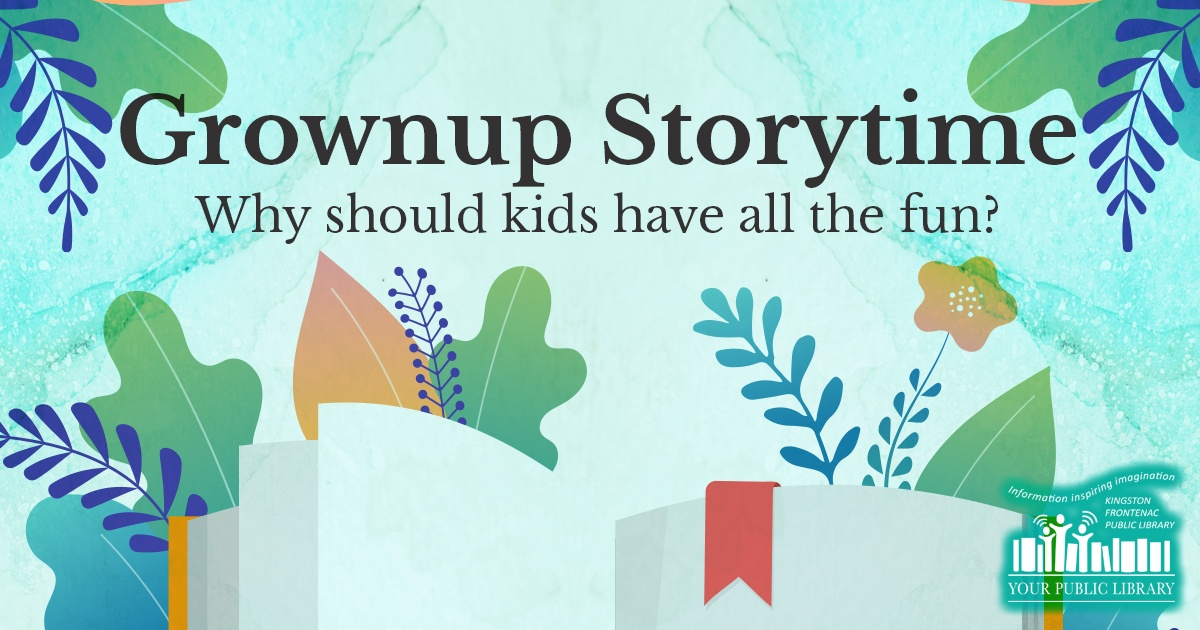 webpost image for Grownup Storytime Online