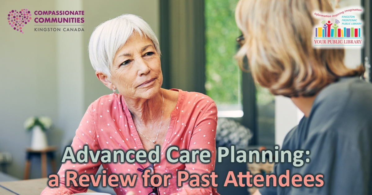 webpost image for Advance Care Planning: a Review for Past Attendees