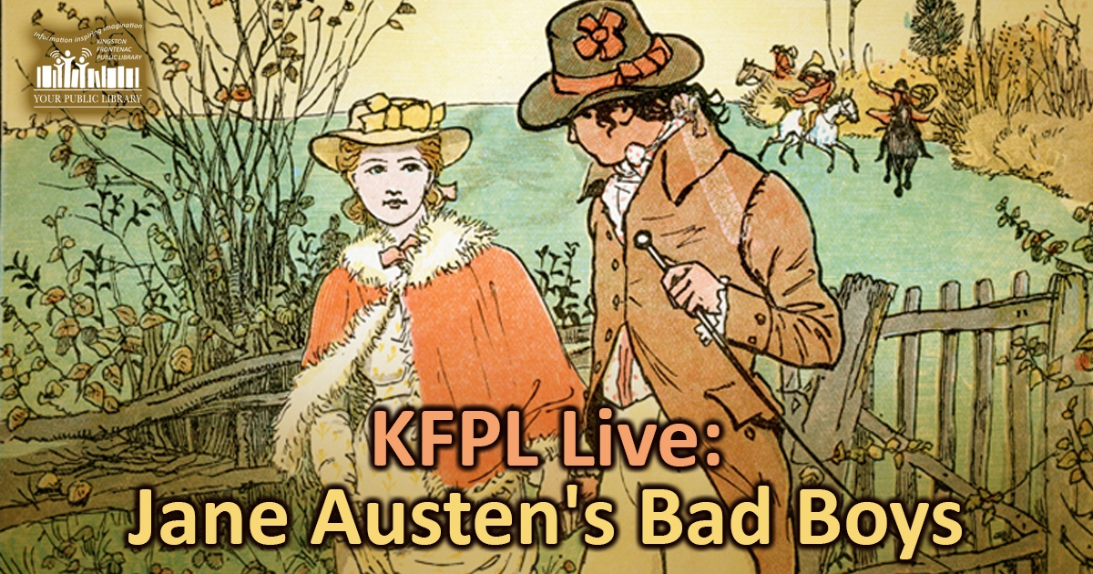 webpost image for Jane Austen's Bad Boys