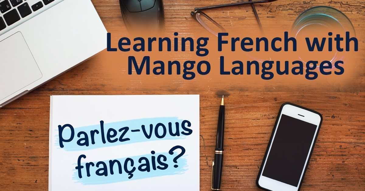 Learning French with Mango languages