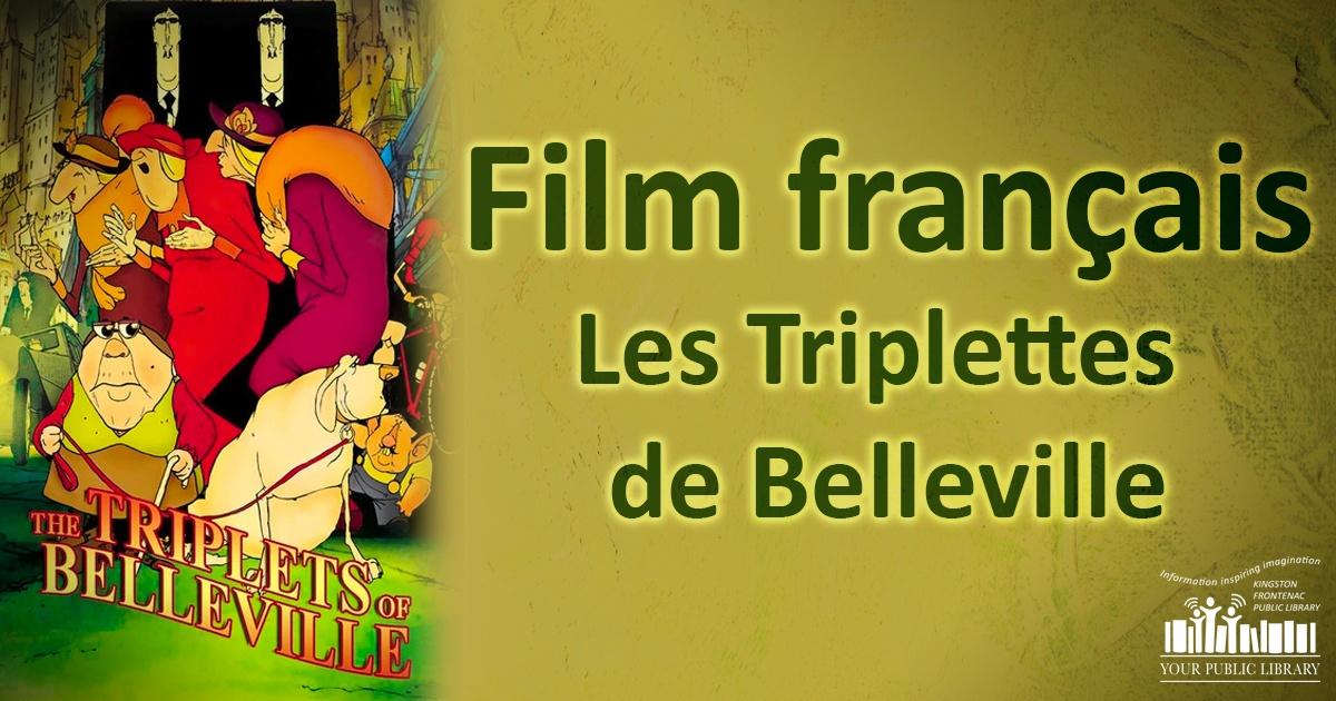 Film français - Les Triplettes de Belleville
