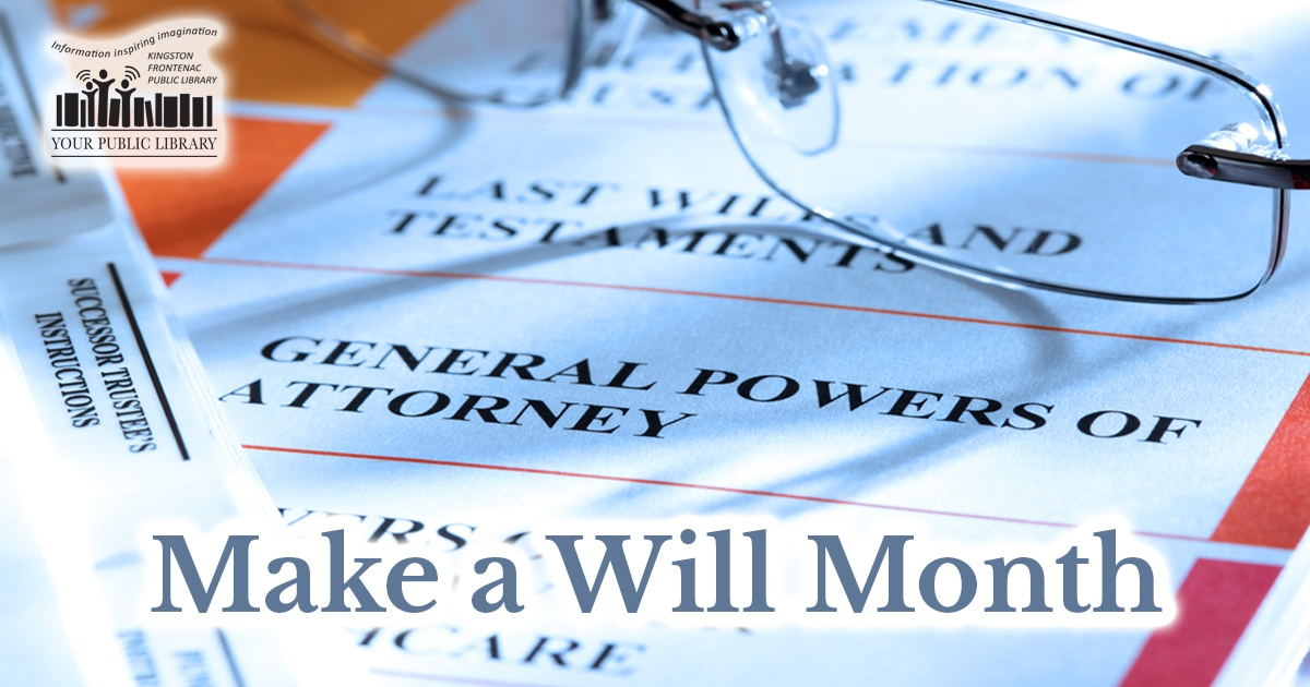 Webpost image for Make a Will Month
