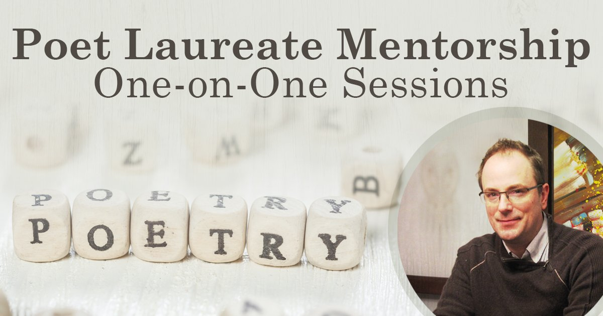 Poet Laureate Mentorship One-on-One Sessions