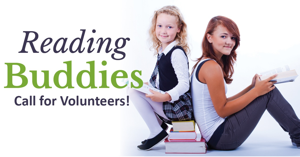 Reading Buddies: Call for Volunteers