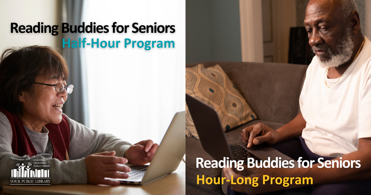 webpost image for combined Reading Buddies for Seniors