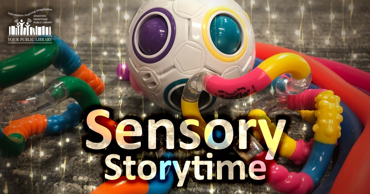 Sensory stoytime image with fidget toys