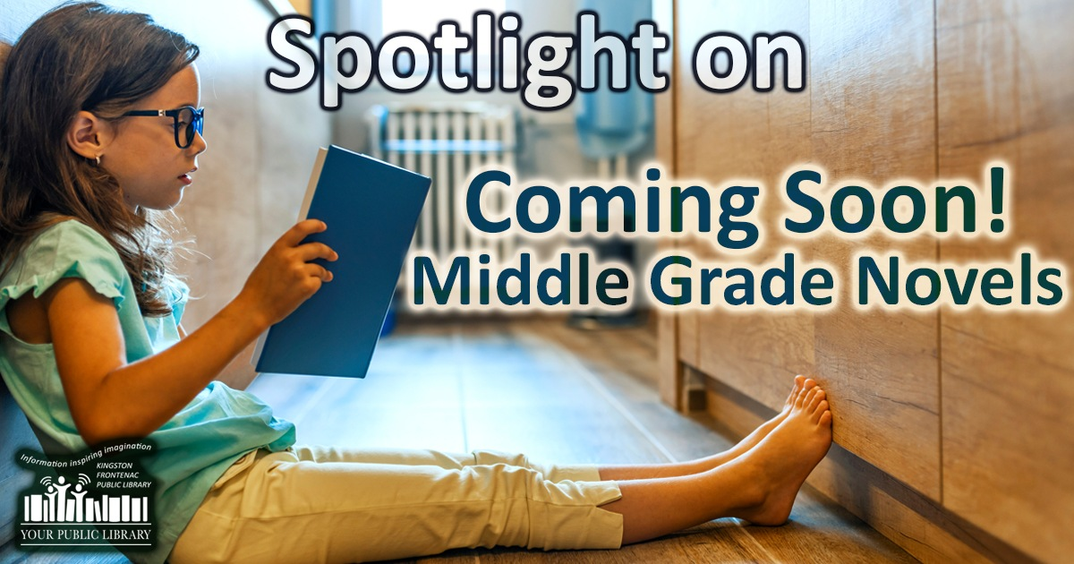 Spotlight on MIddlge Grade Novels. Image of girl reading book