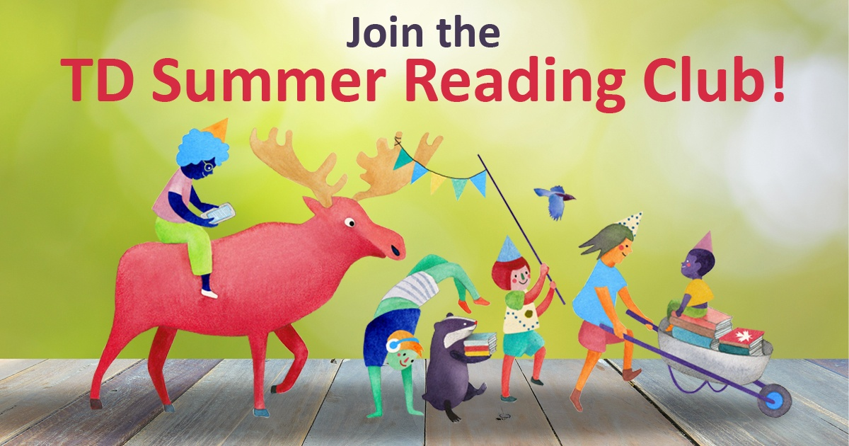 Join the TD Summer Reading Club