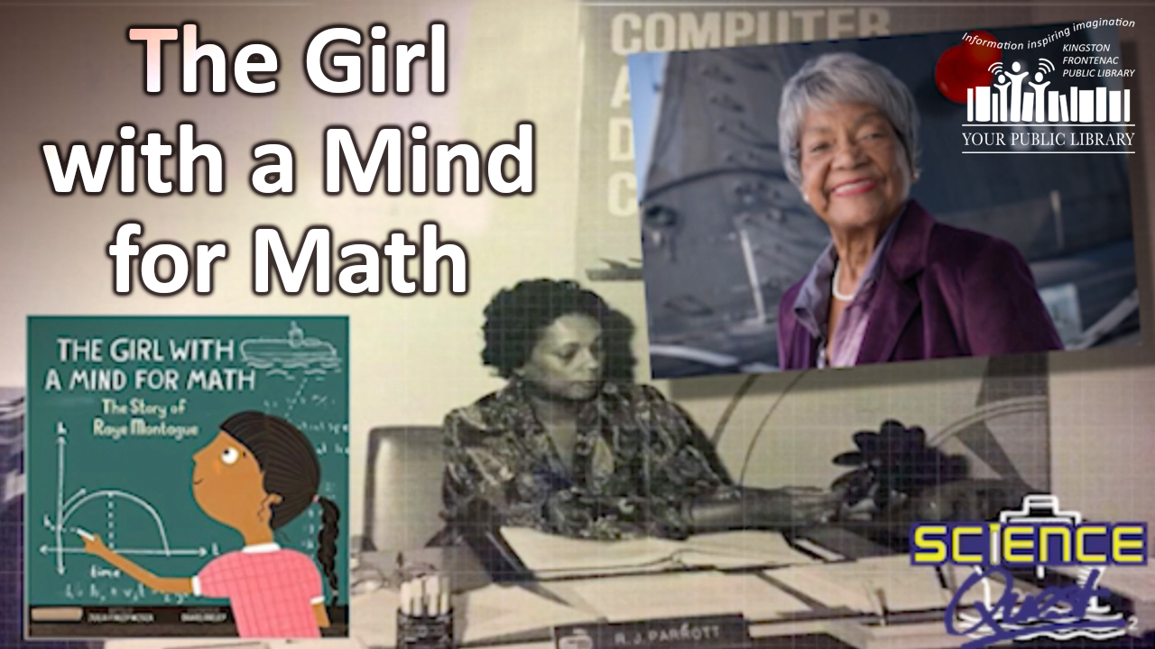 girl with the mind for math