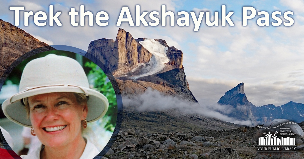 Web post image for Trek the Akshayuk Pass