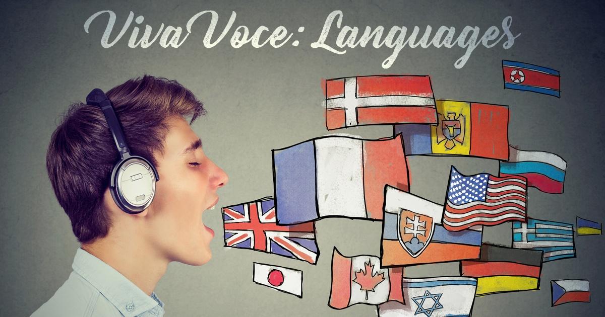 Viva Voce: Languages
