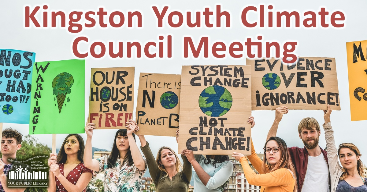 Kingston Youth Climate Council Meeting