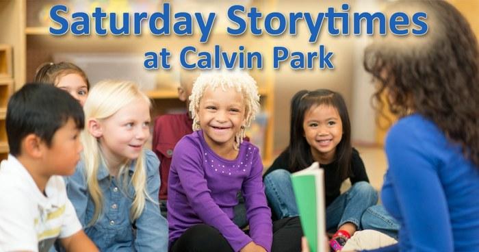 Saturday Storytimes at Calvin Park