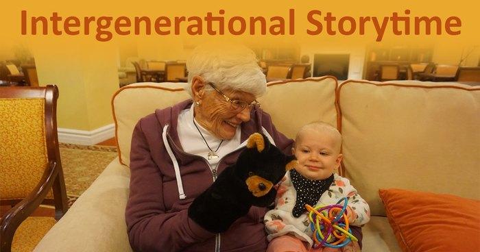 intergenerational storytime