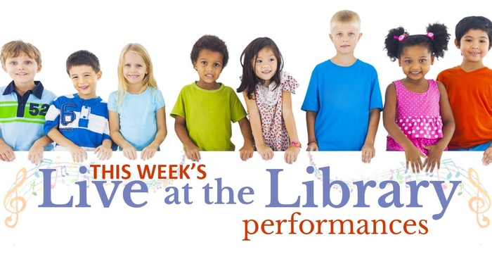 This week's live at the library's performances
