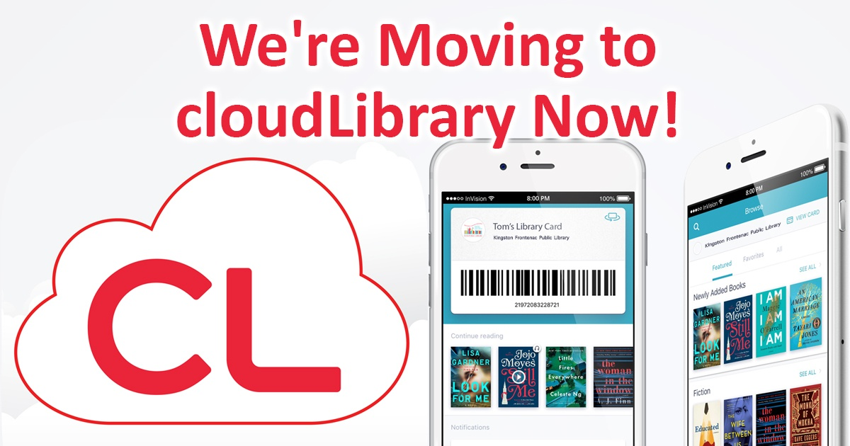 We're moving to cloud library now