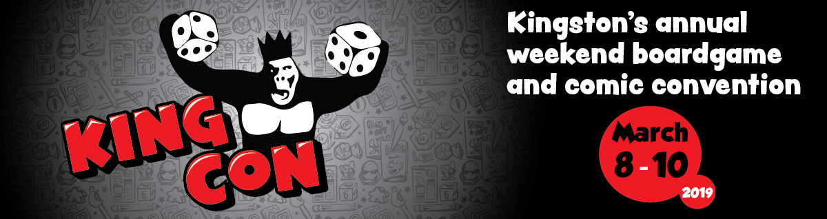 King Con - Kingston's annual weekend boardgame and comic convention