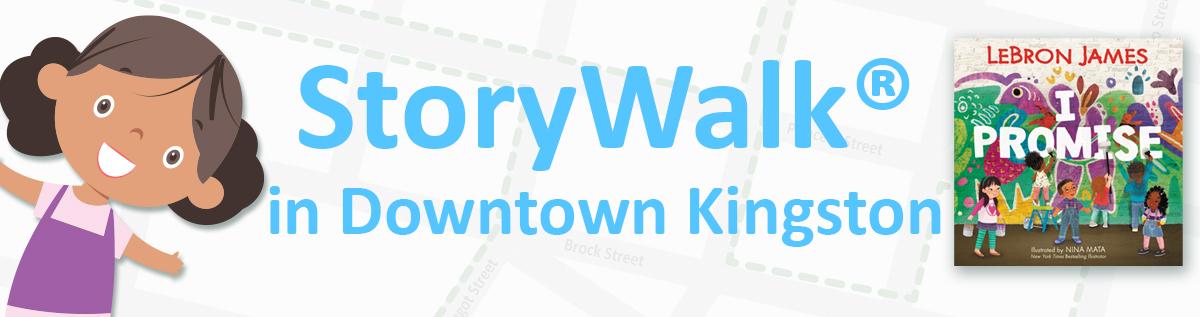 StoryWalk in Downtown Kingston