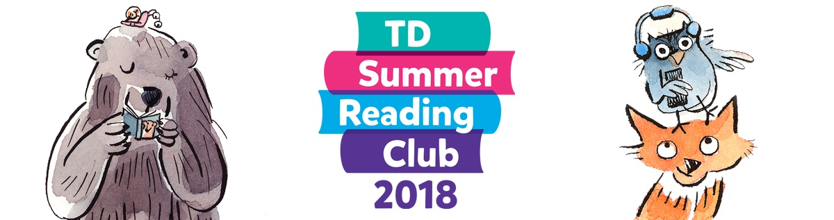 TD Summer Reading Club 2018