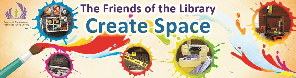 Friends of the Library Create Space