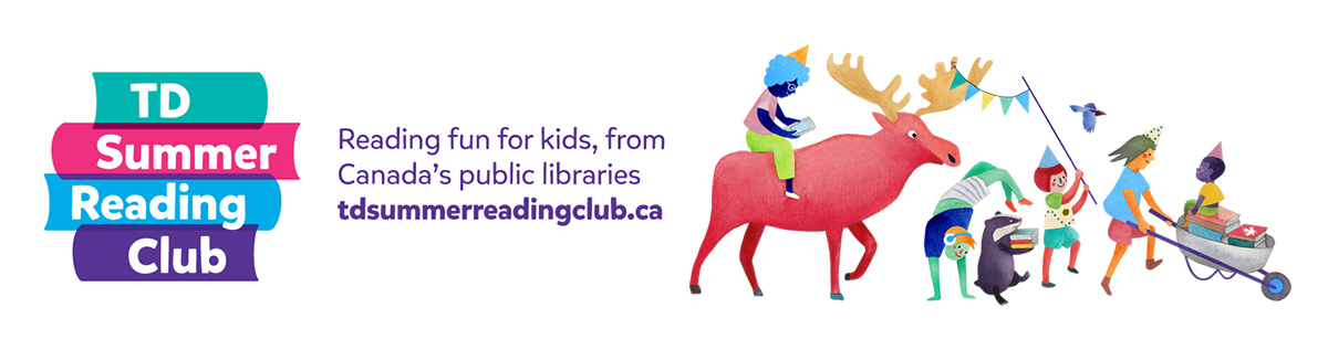 TD Summer Reading Club - Reading fun for kids, from Canada's Public Libraries