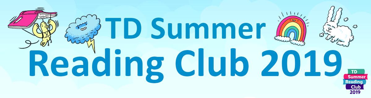 TD Summer Reading Club 2019