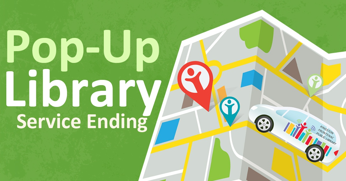 Pop-up Library Service Ending