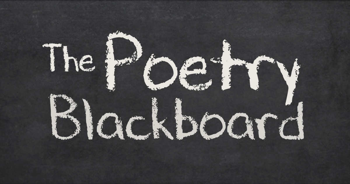 The Poetry Blackboard